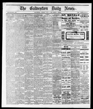 Primary view of object titled 'The Galveston Daily News. (Galveston, Tex.), Vol. 36, No. 60, Ed. 1 Friday, June 1, 1877'.