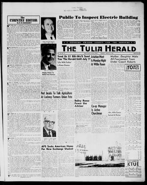 Primary view of object titled 'The Tulia Herald (Tulia, Tex), Vol. 54, No. 12, Ed. 1, Thursday, March 22, 1962'.