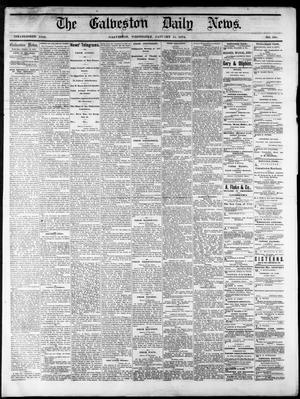 Primary view of object titled 'The Galveston Daily News. (Galveston, Tex.), No. 395, Ed. 1 Wednesday, January 14, 1874'.