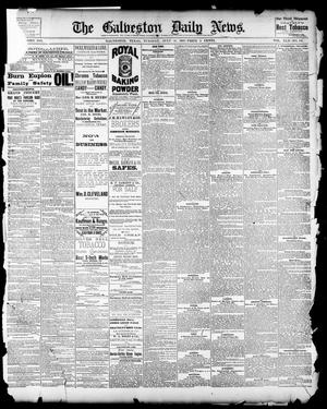 Primary view of object titled 'The Galveston Daily News. (Galveston, Tex.), Vol. 42, No. 131, Ed. 1 Tuesday, July 31, 1883'.