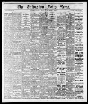 Primary view of The Galveston Daily News. (Galveston, Tex.), Vol. 35, No. 302, Ed. 1 Sunday, March 11, 1877