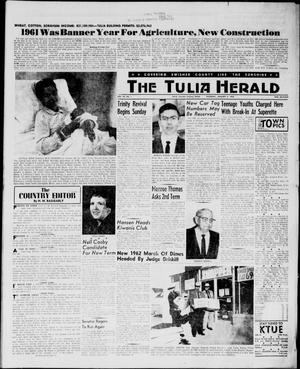 The Tulia Herald (Tulia, Tex), Vol. 54, No. 1, Ed. 1, Thursday, January 4, 1962