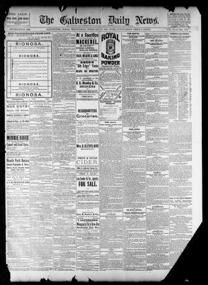 Primary view of The Galveston Daily News. (Galveston, Tex.), Vol. 42, No. 342, Ed. 1 Wednesday, February 27, 1884