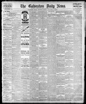 Primary view of The Galveston Daily News. (Galveston, Tex.), Vol. 40, No. 295, Ed. 1 Thursday, March 2, 1882