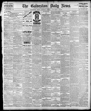 Primary view of object titled 'The Galveston Daily News. (Galveston, Tex.), Vol. 40, No. 303, Ed. 1 Saturday, March 11, 1882'.