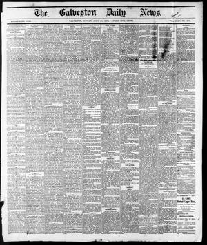 Primary view of object titled 'The Galveston Daily News. (Galveston, Tex.), Vol. 35, No. 164, Ed. 1 Sunday, July 18, 1875'.