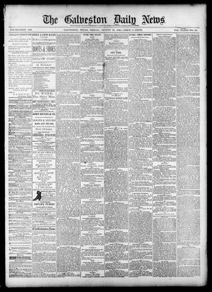 Primary view of object titled 'The Galveston Daily News. (Galveston, Tex.), Vol. 39, No. 129, Ed. 1 Friday, August 20, 1880'.