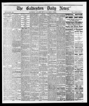 Primary view of object titled 'The Galveston Daily News. (Galveston, Tex.), Vol. 36, No. 49, Ed. 1 Saturday, May 19, 1877'.