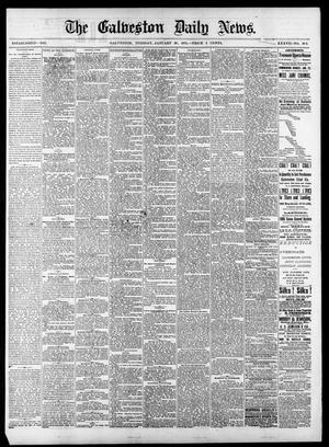 Primary view of object titled 'The Galveston Daily News. (Galveston, Tex.), Vol. 37, No. 266, Ed. 1 Tuesday, January 28, 1879'.
