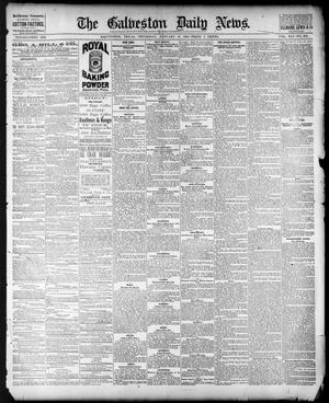 Primary view of object titled 'The Galveston Daily News. (Galveston, Tex.), Vol. 41, No. 259, Ed. 1 Thursday, January 18, 1883'.
