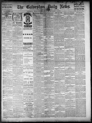 Primary view of object titled 'The Galveston Daily News. (Galveston, Tex.), Vol. 40, No. 130, Ed. 1 Sunday, August 21, 1881'.