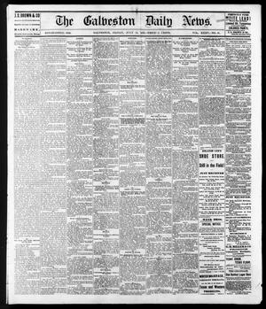 Primary view of object titled 'The Galveston Daily News. (Galveston, Tex.), Vol. 35, No. 97, Ed. 1 Friday, July 14, 1876'.