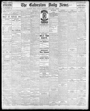 Primary view of object titled 'The Galveston Daily News. (Galveston, Tex.), Vol. 41, No. 154, Ed. 1 Sunday, September 17, 1882'.