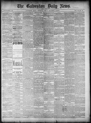 Primary view of object titled 'The Galveston Daily News. (Galveston, Tex.), Vol. 40, No. 69, Ed. 1 Saturday, June 11, 1881'.