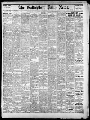 Primary view of The Galveston Daily News. (Galveston, Tex.), Vol. 37, No. 159, Ed. 1 Wednesday, September 25, 1878