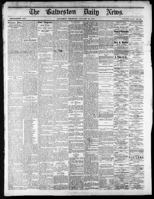 Primary view of object titled 'The Galveston Daily News. (Galveston, Tex.), Vol. 34, No. 20, Ed. 1 Thursday, January 29, 1874'.