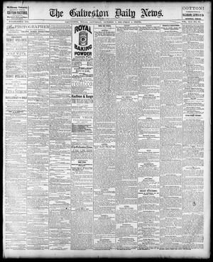 Primary view of object titled 'The Galveston Daily News. (Galveston, Tex.), Vol. 41, No. 171, Ed. 1 Saturday, October 7, 1882'.