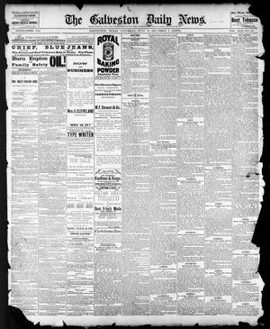 Primary view of object titled 'The Galveston Daily News. (Galveston, Tex.), Vol. 42, No. 114, Ed. 1 Saturday, July 14, 1883'.