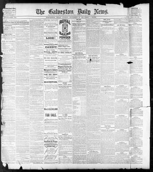 Primary view of object titled 'The Galveston Daily News. (Galveston, Tex.), Vol. 42, No. 185, Ed. 1 Sunday, September 23, 1883'.