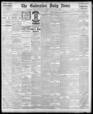Primary view of object titled 'The Galveston Daily News. (Galveston, Tex.), Vol. 41, No. 144, Ed. 1 Wednesday, September 6, 1882'.
