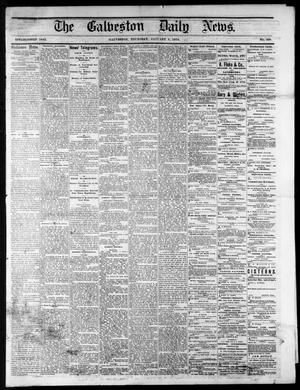 Primary view of object titled 'The Galveston Daily News. (Galveston, Tex.), No. 390, Ed. 1 Thursday, January 8, 1874'.