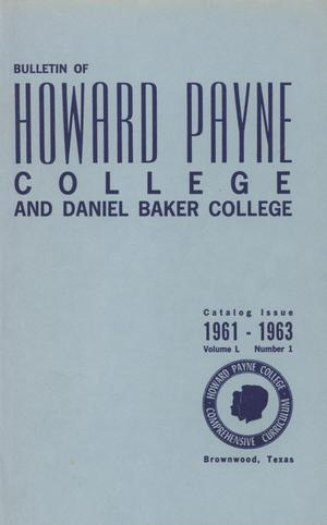 Catalog of Howard Payne College, 1960-1961