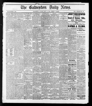 Primary view of The Galveston Daily News. (Galveston, Tex.), Vol. 37, No. 43, Ed. 1 Sunday, May 12, 1878