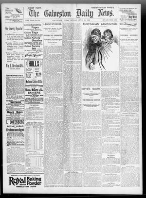Primary view of object titled 'The Galveston Daily News. (Galveston, Tex.), Vol. 55, No. 96, Ed. 1 Sunday, June 28, 1896'.