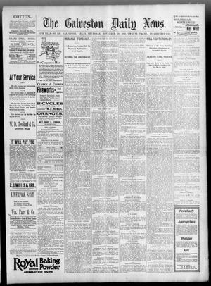 Primary view of object titled 'The Galveston Daily News. (Galveston, Tex.), Vol. 54, No. 249, Ed. 1 Thursday, November 28, 1895'.
