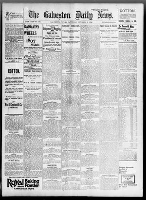 Primary view of object titled 'The Galveston Daily News. (Galveston, Tex.), Vol. 55, No. 193, Ed. 1 Saturday, October 3, 1896'.