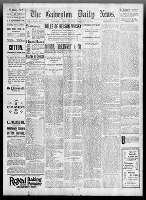 Primary view of object titled 'The Galveston Daily News. (Galveston, Tex.), Vol. 53, No. 340, Ed. 1 Tuesday, February 26, 1895'.