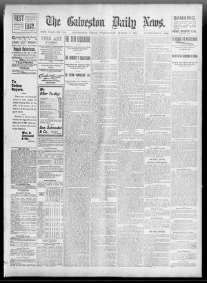 Primary view of object titled 'The Galveston Daily News. (Galveston, Tex.), Vol. 55, No. 344, Ed. 1 Wednesday, March 3, 1897'.