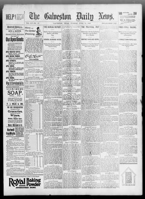 Primary view of The Galveston Daily News. (Galveston, Tex.), Vol. 54, No. 79, Ed. 1 Tuesday, June 11, 1895