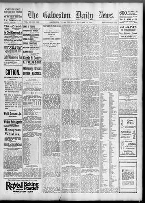 Primary view of The Galveston Daily News. (Galveston, Tex.), Vol. 53, No. 293, Ed. 1 Thursday, January 10, 1895