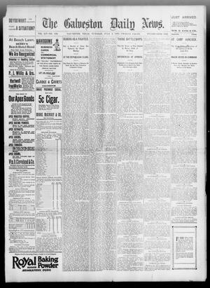 Primary view of object titled 'The Galveston Daily News. (Galveston, Tex.), Vol. 54, No. 100, Ed. 1 Tuesday, July 2, 1895'.
