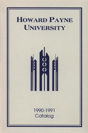 Primary view of object titled 'Catalog of Howard Payne University, 1990-1991'.