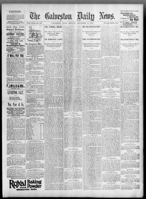 Primary view of object titled 'The Galveston Daily News. (Galveston, Tex.), Vol. 54, No. 246, Ed. 1 Monday, November 25, 1895'.