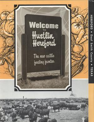Primary view of object titled '[Welcome to Hustlin' Hereford Brochure]'.
