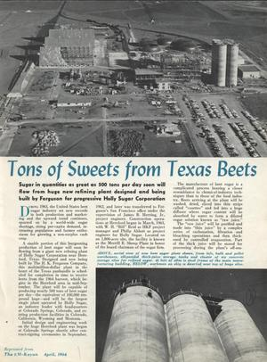 Primary view of object titled 'Tons of Sweets from Texas Beets'.
