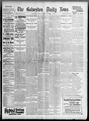 Primary view of object titled 'The Galveston Daily News. (Galveston, Tex.), Vol. 54, No. 197, Ed. 1 Monday, October 7, 1895'.