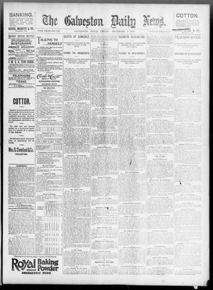 Primary view of The Galveston Daily News. (Galveston, Tex.), Vol. 55, No. 255, Ed. 1 Friday, December 4, 1896