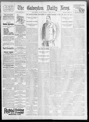 Primary view of object titled 'The Galveston Daily News. (Galveston, Tex.), Vol. 55, No. 49, Ed. 1 Tuesday, May 12, 1896'.