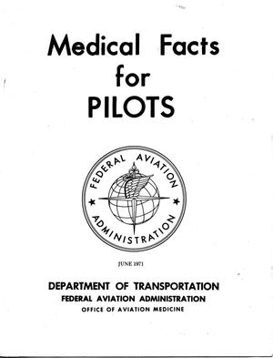 Primary view of object titled 'Medical Facts for Pilots'.