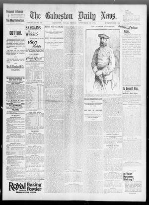 Primary view of object titled 'The Galveston Daily News. (Galveston, Tex.), Vol. 55, No. 185, Ed. 1 Friday, September 25, 1896'.