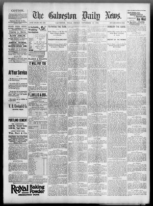 Primary view of object titled 'The Galveston Daily News. (Galveston, Tex.), Vol. 54, No. 236, Ed. 1 Friday, November 15, 1895'.