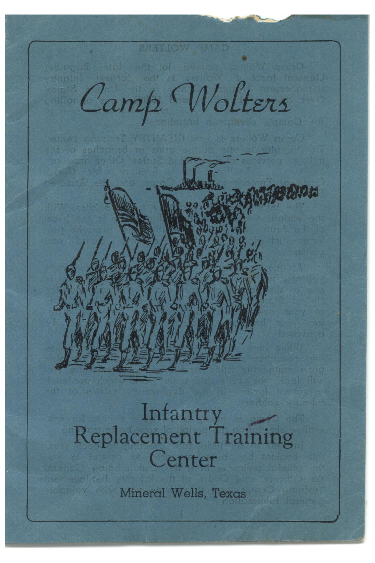 Camp Wolters, Infantry Replacement Training Center, Mineral Wells, Texas                                                                                                      [Sequence #]: 1 of 19