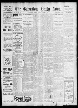 Primary view of object titled 'The Galveston Daily News. (Galveston, Tex.), Vol. 53, No. 349, Ed. 1 Friday, March 8, 1895'.
