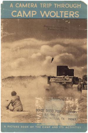 Primary view of object titled 'A Camera Trip Through Camp Wolters:  A  picture book of the camp and its activities'.
