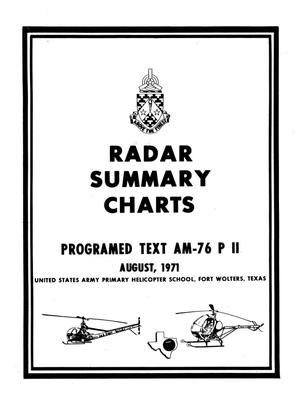 Primary view of object titled 'Radar Summary Chart'.