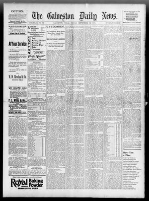 Primary view of object titled 'The Galveston Daily News. (Galveston, Tex.), Vol. 54, No. 173, Ed. 1 Friday, September 13, 1895'.